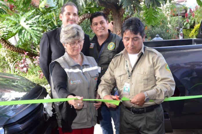 Entrega de equipamiento a Parque Nacional Carrasco
