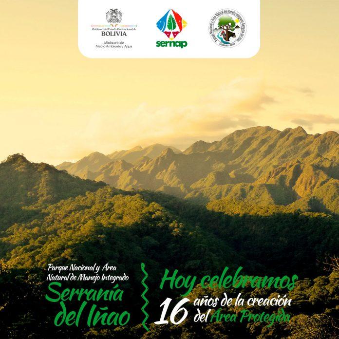 Serranía del Iñao cumple 16 años de creación
