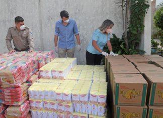 Sernap, Gestión social y jóvenes cruceños donan víveres