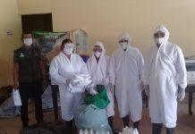 Donación de insumos de bioseguridad