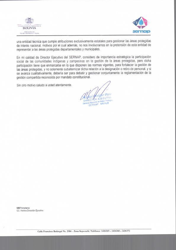 Pronunciamiento de Asociación de Comités de Gestión