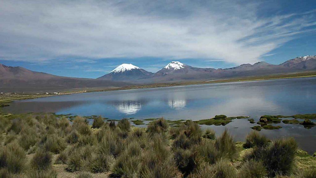 Payachatas, Parinocota y Pomerape