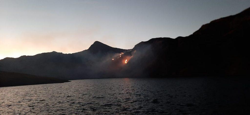 Incendios en Tunari
