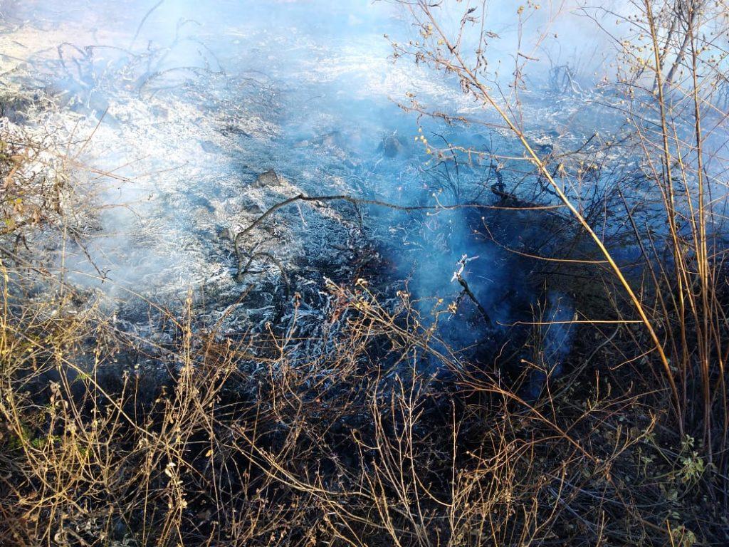 Incendio en Tunari