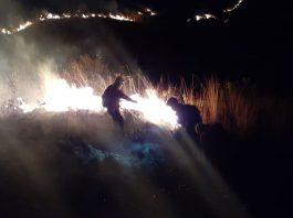 Incendio en Jove Rancho en Tunari