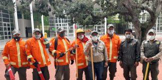 Guardaparques voluntarios para combatir los incendios en San Matías