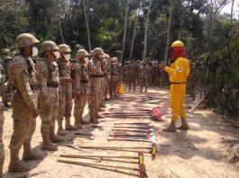 Taller de capacitación de lucha contra los incendios