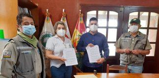 Acuerdo firmado entre SERNAP y FAN