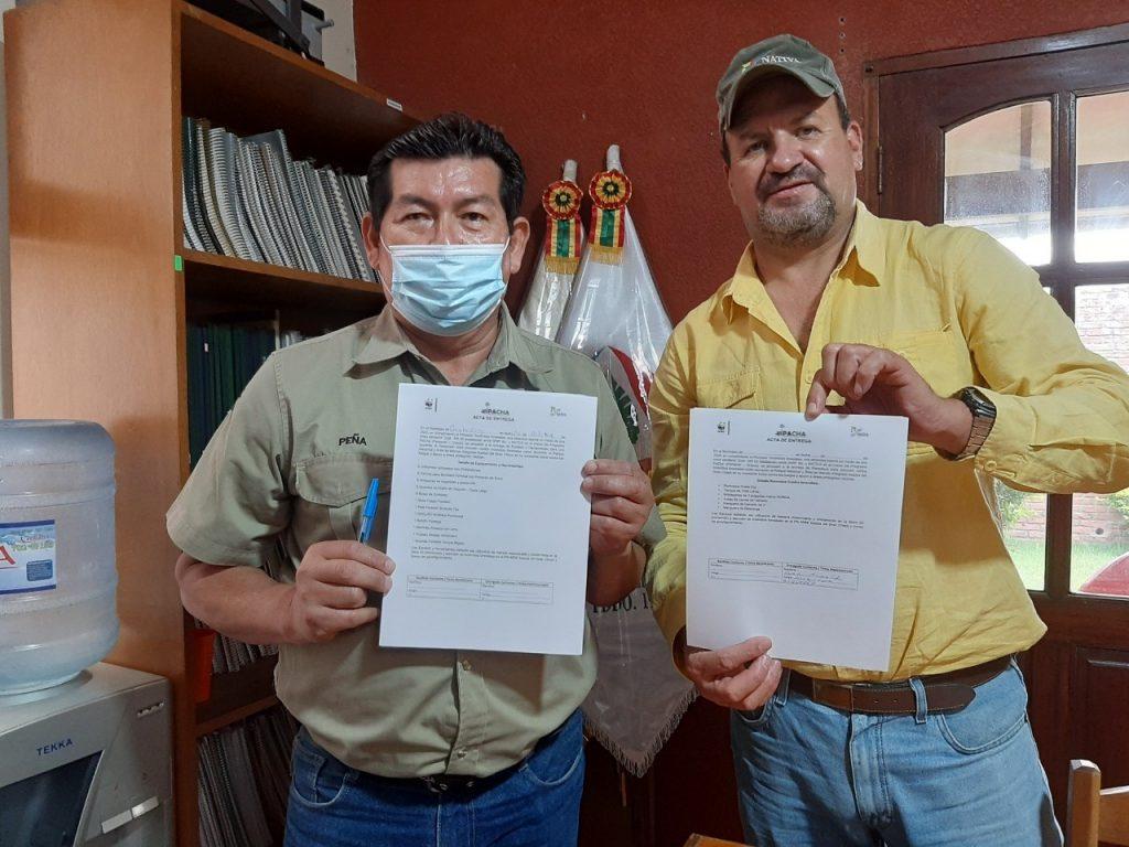 Donación para el Parque Nacional y ANMI Kaa-Iya del Gran Chaco