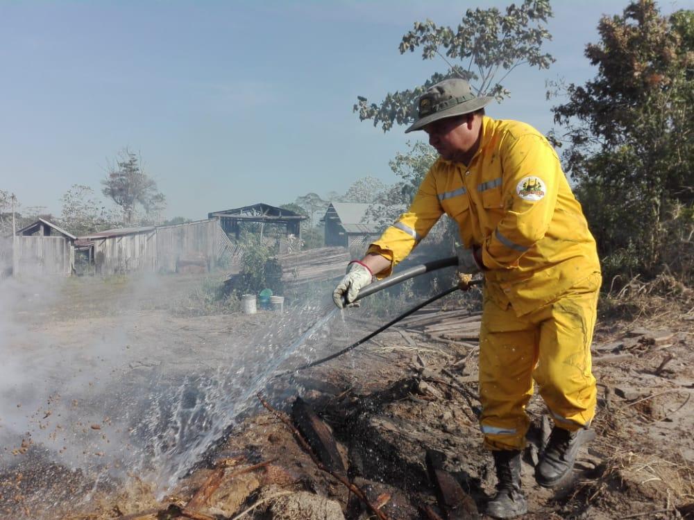 Incendio en Madidi