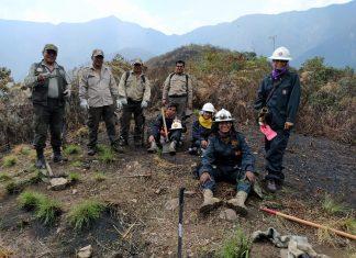 Incendio en el Parque Nacional y Área Natural de Manejo Integrado Cotapata