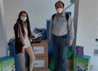 Donaciones de insumos de bioseguridad de la Plataforma Ambiental Piensa Verde