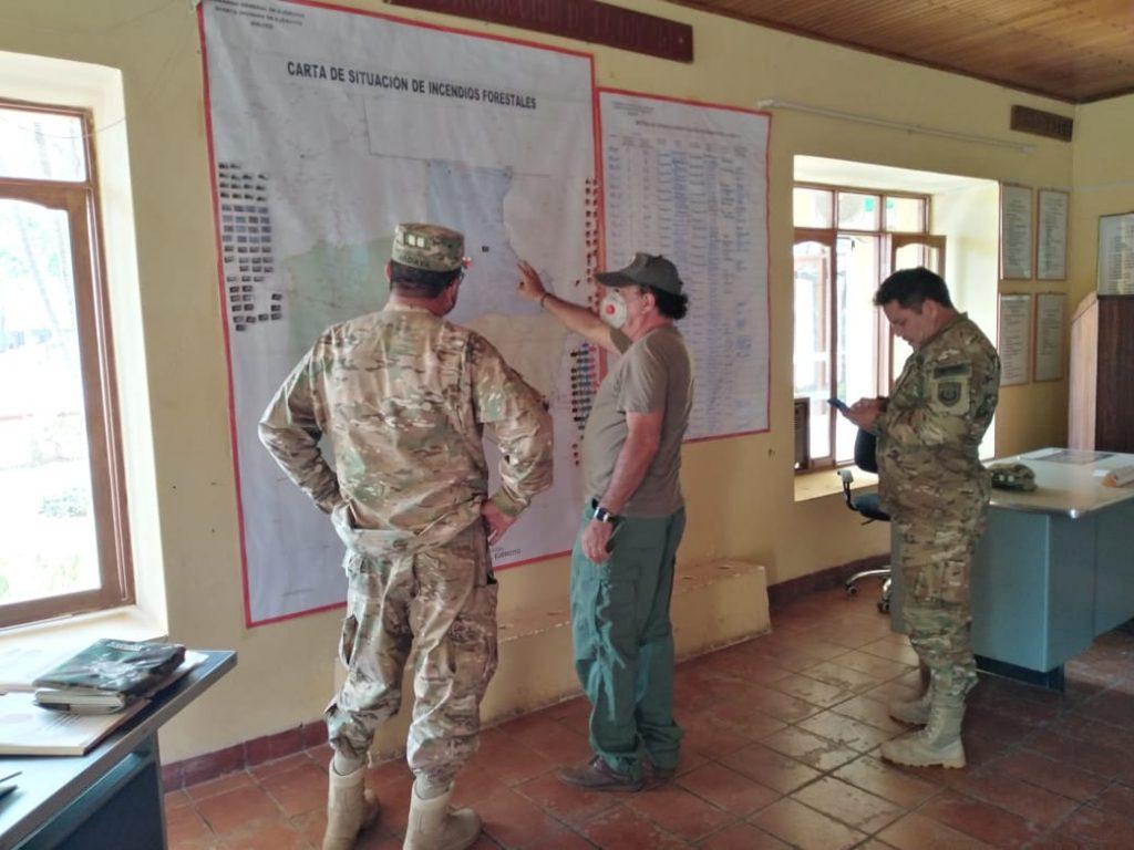 Reunion SERNAP con Regimiento de las Fuerzas Armadas