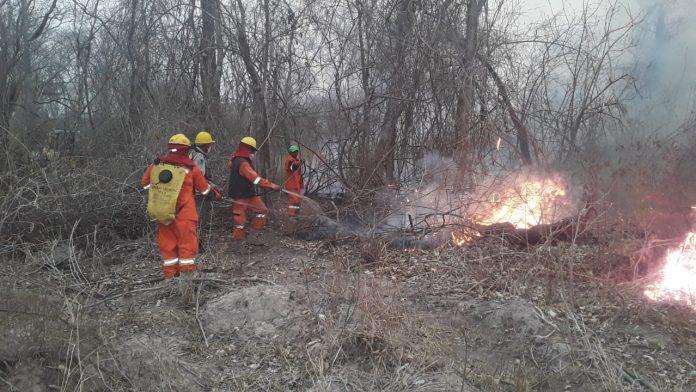 Incendio del ANMI San Matías