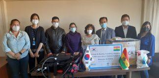 Donación de KOICA Y BAAK a las Áreas Protegidas