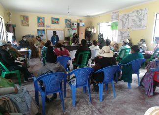 Capacitaciones en el Parque Nacional y ANMI Cotapata